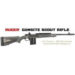 Ruger Gunsite Scout Rifle - 308 Winchester - Catégorie C