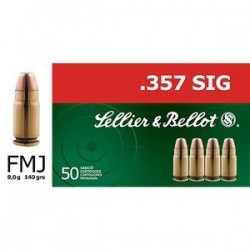 SELLIER & BELLOT .357 SIG FMJ