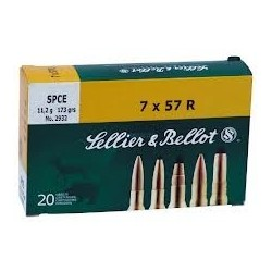 7x57R - Sellier Bellot - 20 / 171 grs