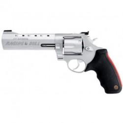 """Taurus 444 Raging Bull 6"""" - 44 Magnum - Inox matte sans compensateur"""