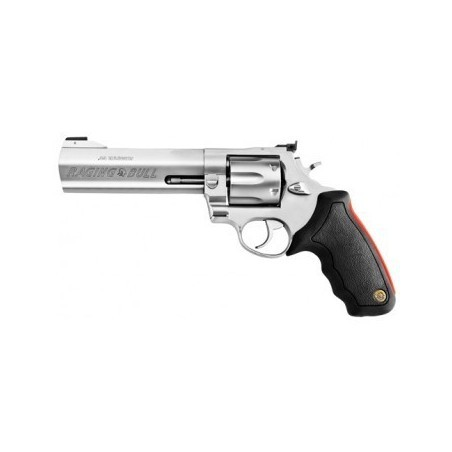 "Taurus 444 Raging Bull 6.5"" - 44 Magnum - Inox matte avec compensateur sans bande ventilée"