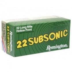 22LR subsonic - Remington - x50 / 38 grs