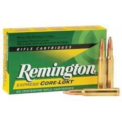 7-08 - Remington - x20 / 140 grs