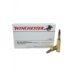 Winchester 6.5x55 FMJ 140...