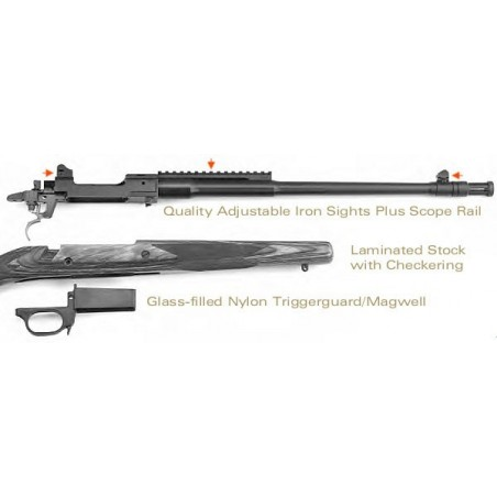 Ruger Gunsite Scout Rifle - 308 Win - Catégorie C