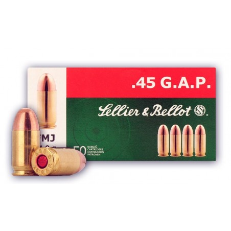 45 GAP - Sellier Bellot - x50 / 230 grs