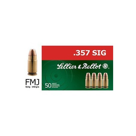 357 Sig - Sellier Bellot - x50 / 140 grs