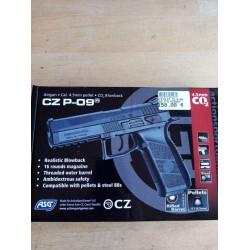 PISTOLET CZ P-09 CO2 4.5...