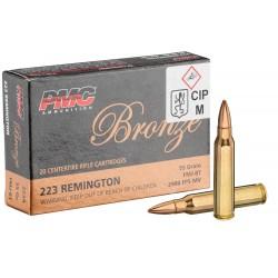 Munitions calibre 223 Rem...
