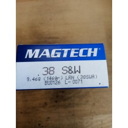 38 SMITH & WESSON MAGTECH...