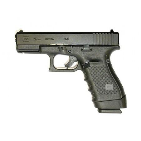 Extension de poignée Glock 19 / 23 (Chargeurs Glock 17 / 22)