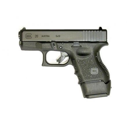 Extension de poignée Glock 26 / 27 (Chargeurs Glock 19 / 23)