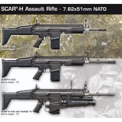 FN SCAR 17S  .308 Win - CQC