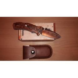 Couteau Fox - Kuma lame acier