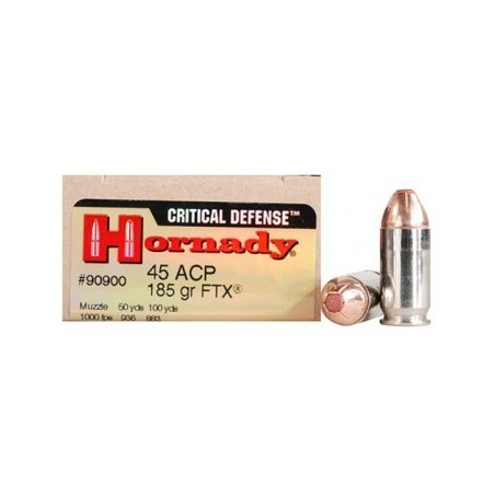 45 ACP -  FTX Critical Defense - x20 / 185 grs