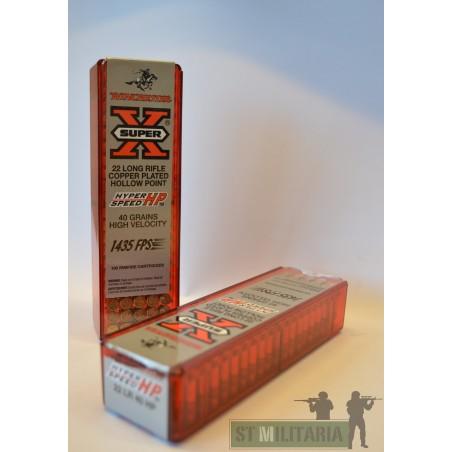 22LR - Winchester super X - x100 / 40 grs