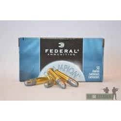 22LR champion target - Federal - x50 / 40 grs