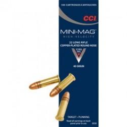 22LR mini mag - CCI - x100 / 40 grs
