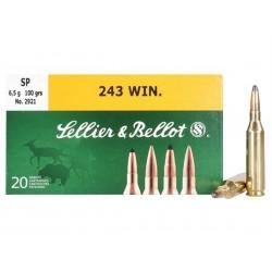 243 win - Sellier Bellot - x20 / 100grs