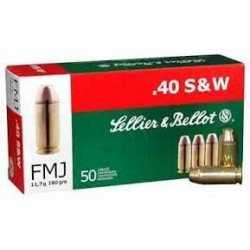 40 S&W - Sellier & Bellot -...
