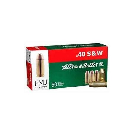 40 S&W - Sellier & Bellot - x50 / 180 grs