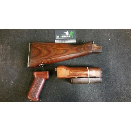 Crosse complète compatible AK47 et AKM47 - Bois et bakélite
