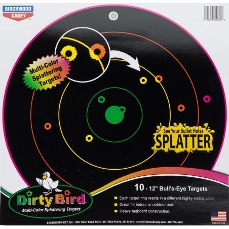 Cibles multicolores - Dirty Birds - x20
