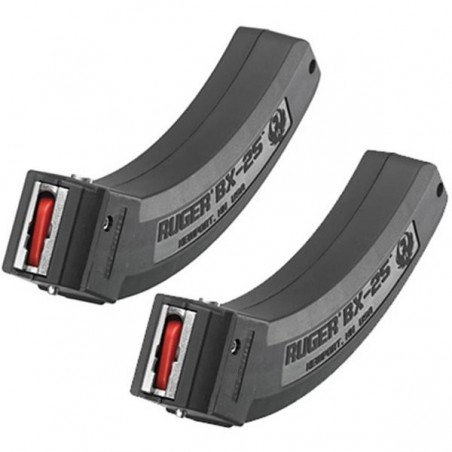 Chargeur Ruger 10/22 BX25 - 25 coups - x2