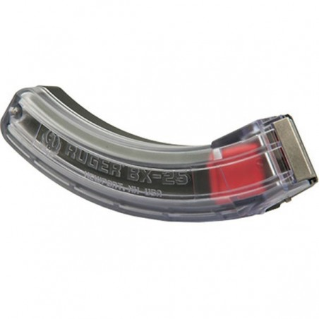Chargeur Ruger 10/22 BX25 - 25 coups - Transparent
