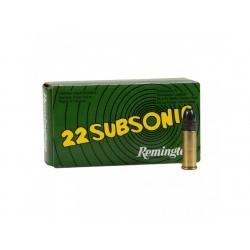 22LR subsonic - Remington -...