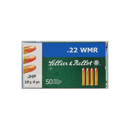 22 Mag - Sellier Bellot - x50 / 40 grs