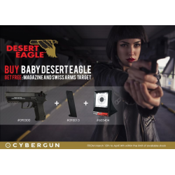 Pack Baby DESERT EAGLE Co2