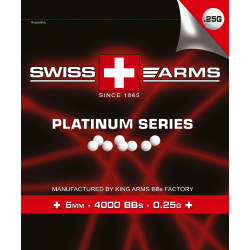 Billes SWISS ARMS Blanche...