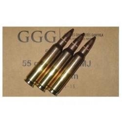 5.56x45 FMJ 55gr - GGG x 50