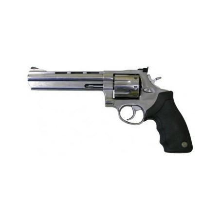 """Taurus 608CP 6.5"""" - 357 Magnum - Inox avec compensateur"""