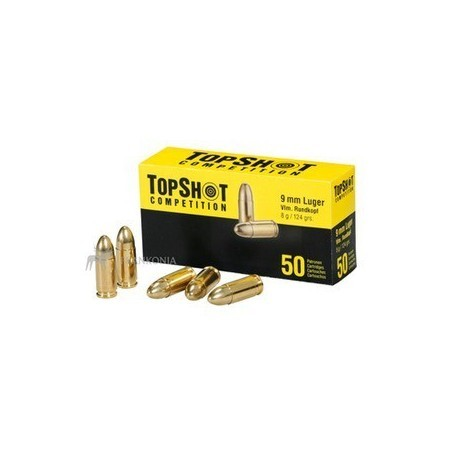 9mm Luger - Topshot - x50 / 124 grs