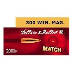 300 Win Mag - Sellier Bellot - x20 / 180 grs
