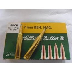 7mm Rem - Sellier Bellot - x20 / 173 grs