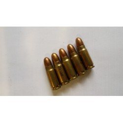 7.62x25 CIP - Surplus - x100 / 86 grs