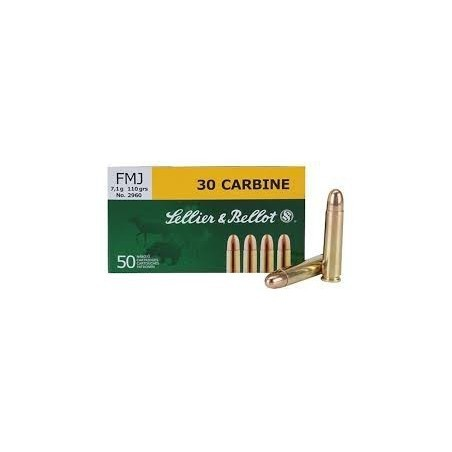 30 carbine - Sellier Bellot - x50 / 110 grs