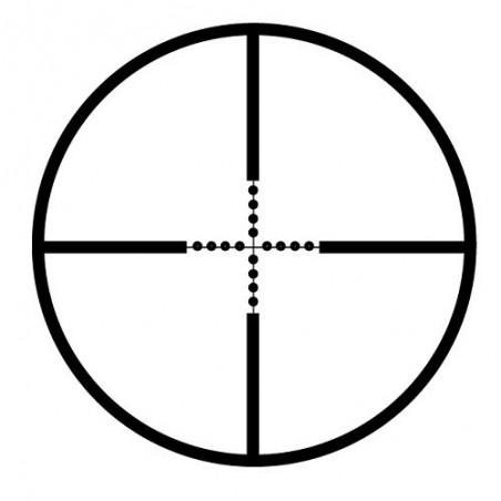 Lunette Sun Optics - 4X32 réticule mil dot