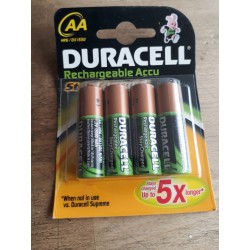 DURACELL RECHARGEABLE 2000 mAh