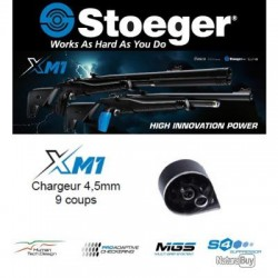 Chargeur Xm1 9 coups