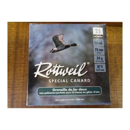12/70 - Rottweil Special canard N°4 - x25 / 34g
