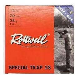 12/70 - Rottweil Special trap N°7.5 - x25 / 28g