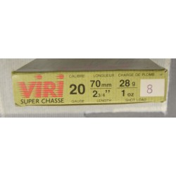 Cartouches Viri 20x70 N 8