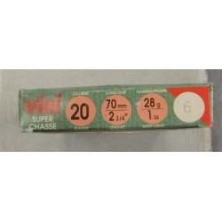 Cartouches Viri 20x70 N 6