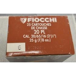 Cartouches Fiocchi 20x70 N 6