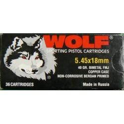 Wolf 5,45x18 FMJ